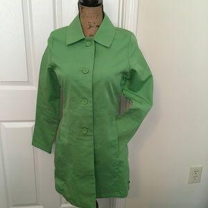 GAP Green Trench Coat